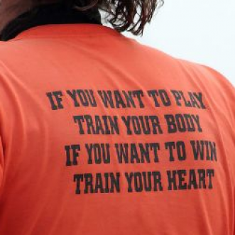 Train your heart.
